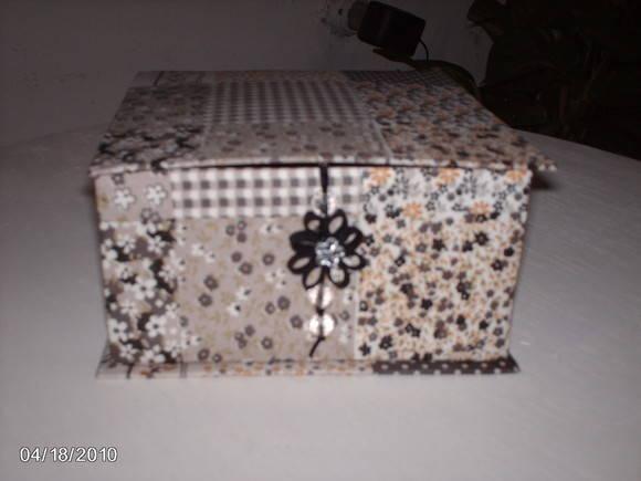 Caixa de Ch� - Cartonagem