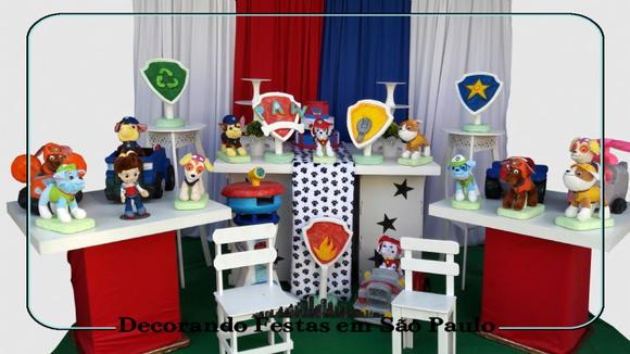 decoracao festa infantil patrulha canina : decoracao festa infantil patrulha canina: de Festa Infantil > Decoração festa infantil patrulha canina