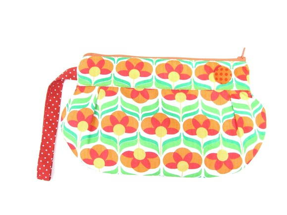 Carry Flower Retro Laranja