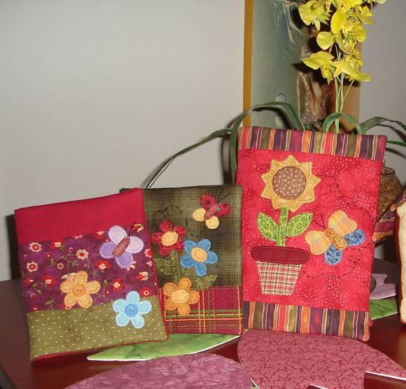 Capas de Caderno Flores do Meu Jardim  DannyPatch  Elo7