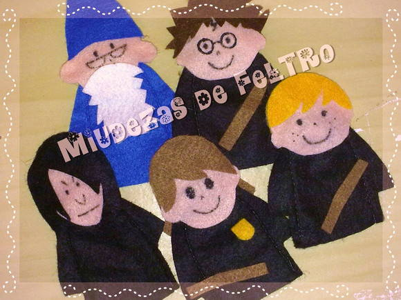 "Kit Dedoches ""Harry Potter"""