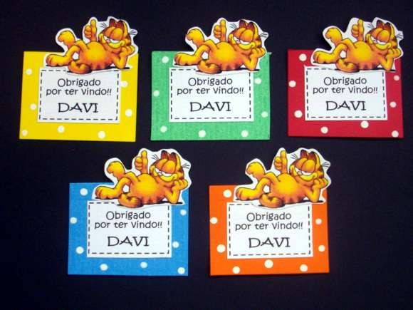 TAG SCRAPBOOK - GARFIELD