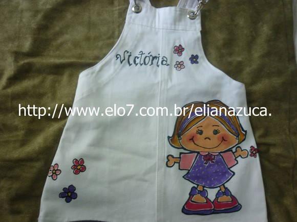 Jardineira Infantil