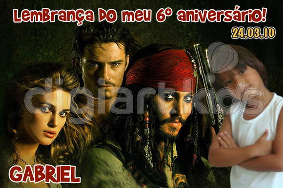 �m� personalizado: Piratas do Caribe