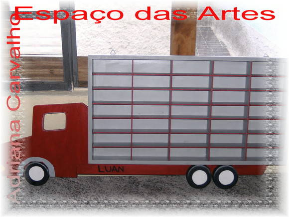 Caminh�o porta Carrinhos Hot Wheels