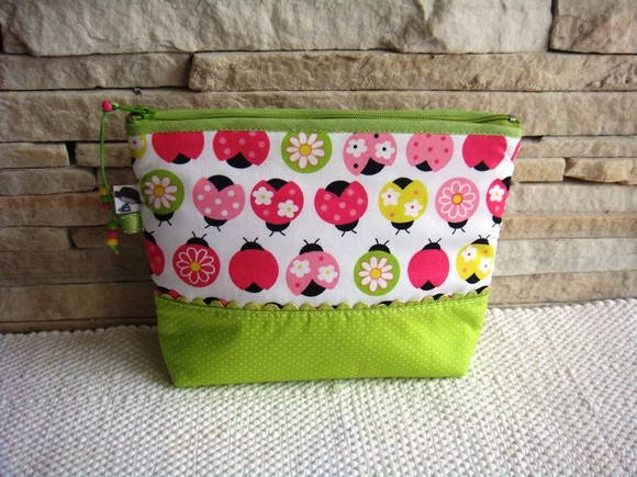 N�cessaire LadyBug Green