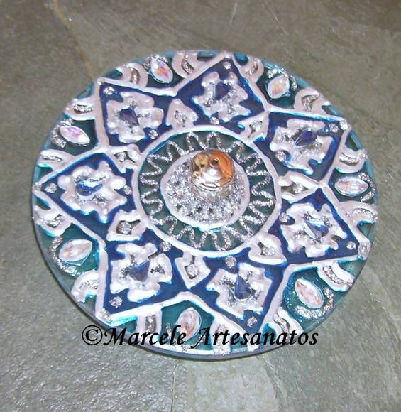 "Porta-Incenso ""Mandala"""