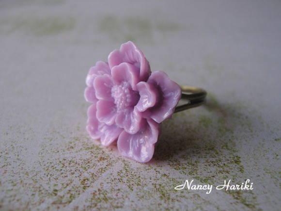 Anel sakura lil�s