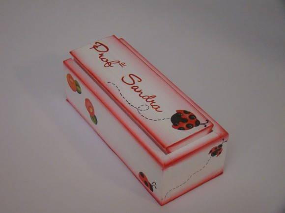 Caixa de Giz com Apagador - Modelo 7