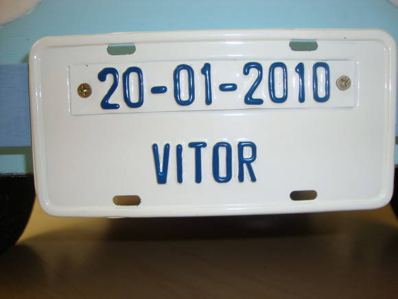Placa Personalizada - Mini