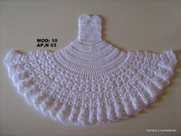 Vestidos De Croche Graficos