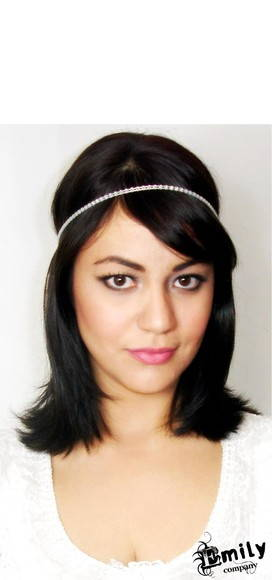 Headband Princesa c/ strass
