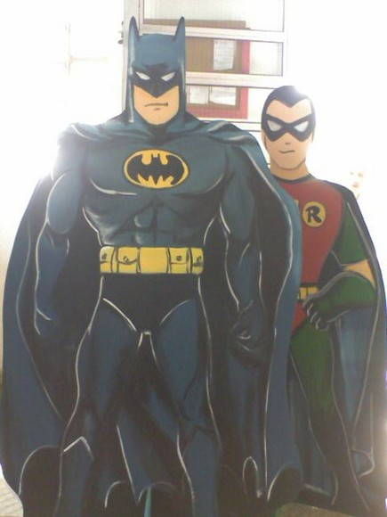 Displays Batman e Robin