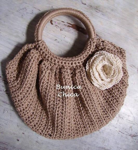 Bolsa De Croche Para Casamento : Bolsa em croch? bunica chica elo