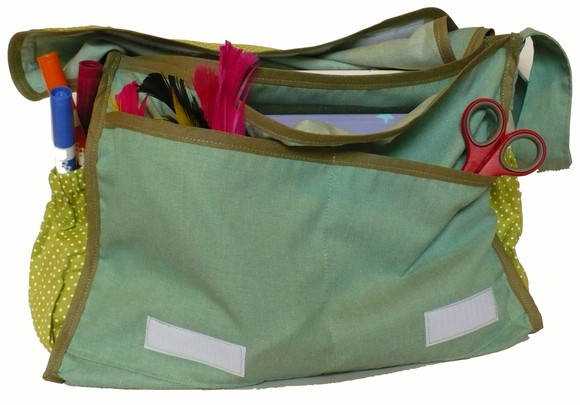 Bolsa Escolar Infantil Po Verde