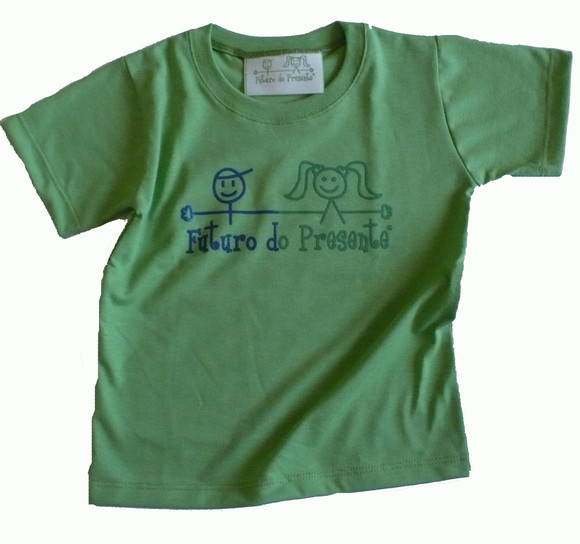 Camiseta Infantil malha PET Futuro VD