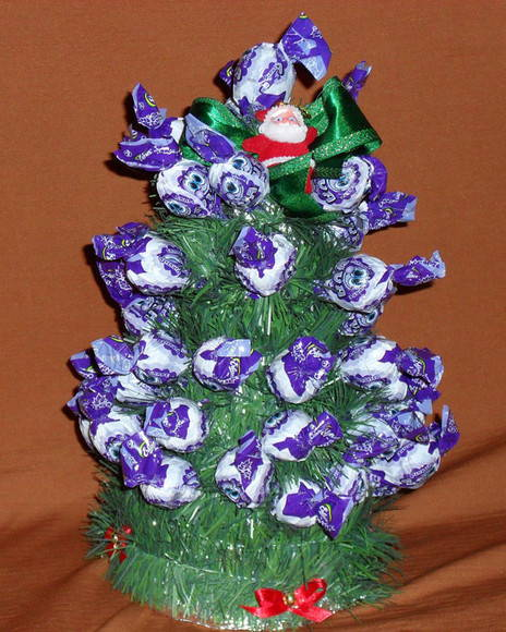 �rvore de Natal - Pirulito
