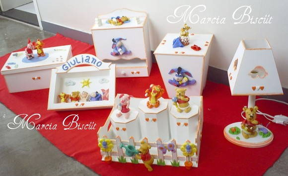 Kit de higi�ne turma do pooh Baby