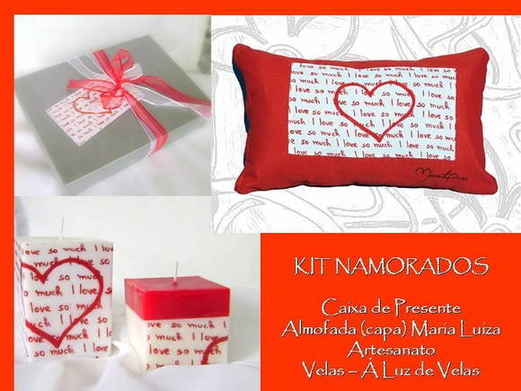 KIT NAMORADOS - I LOVE SO MUCH