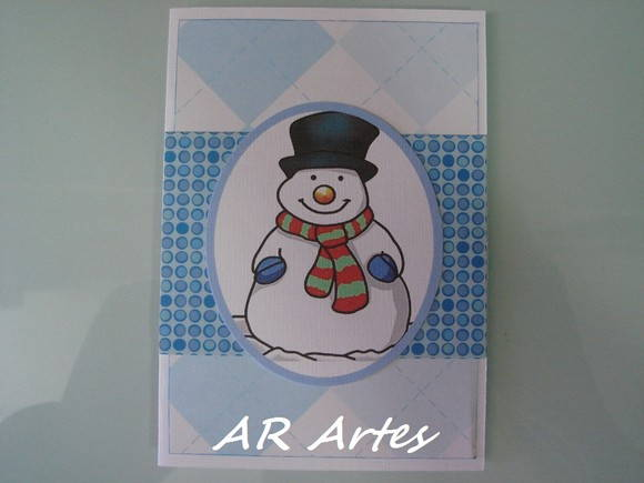 Cart�o de Natal Pequeno