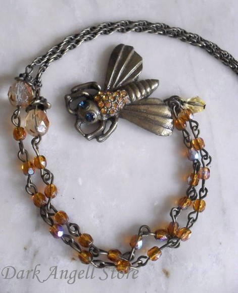 Colar � Sweet Bee & Honey Crystal �