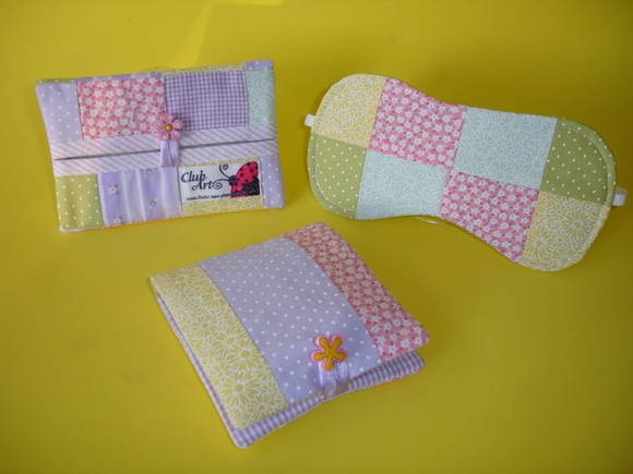 kit feminino patchwork