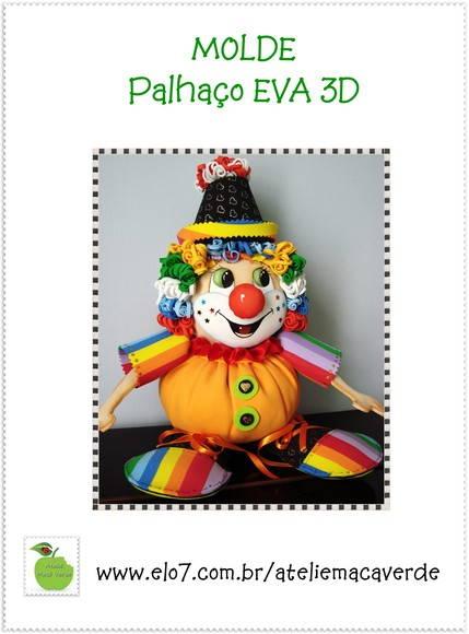 MOLDE   RISCO PALHA  O EM EVA 3D