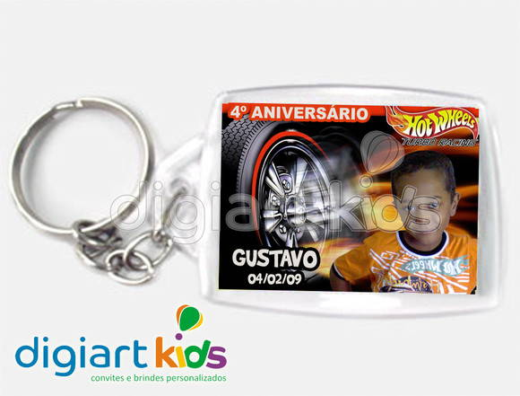Chaveiro Hot Wheels