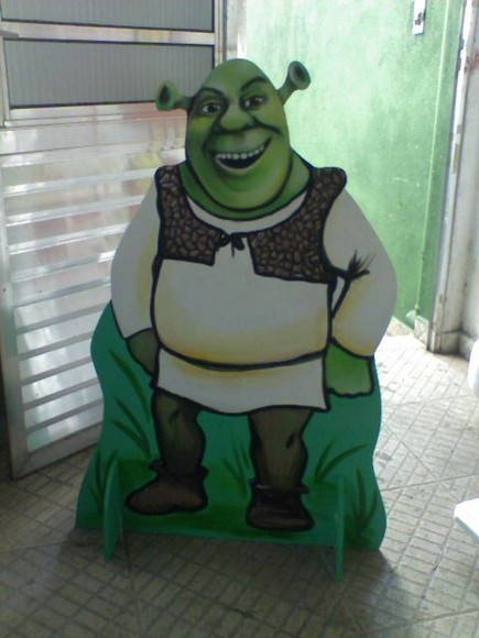 Display Shrek