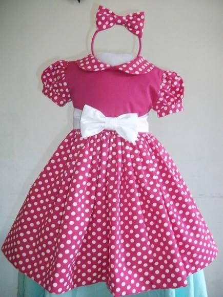 Vestidos Con Diseños De Minnie Baby Imagui