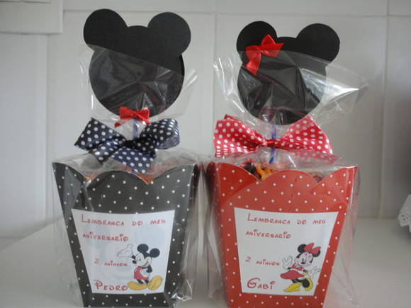 LEMBRAN  A MINNIE E MICKEY