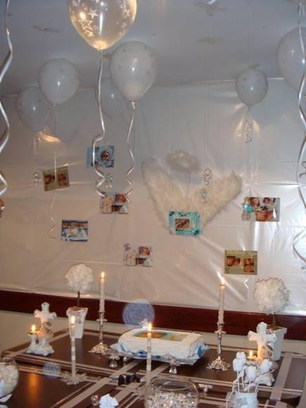 Mesa De Decoracao Festa De Batizado Contem 02 Vasos Leiteira