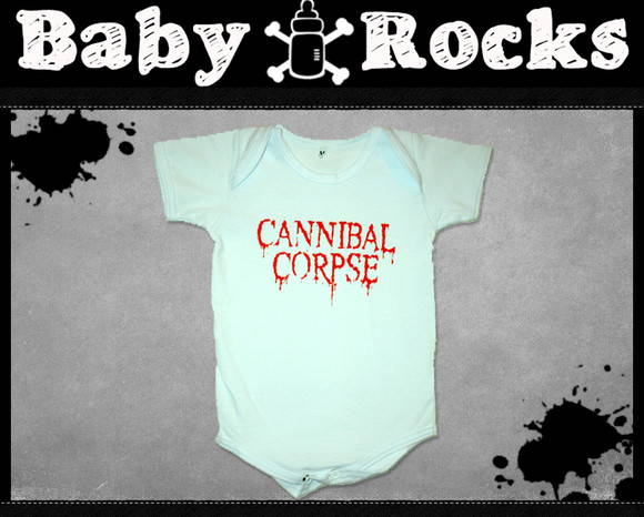 Body ou Camisetinha Cannibal Corpse