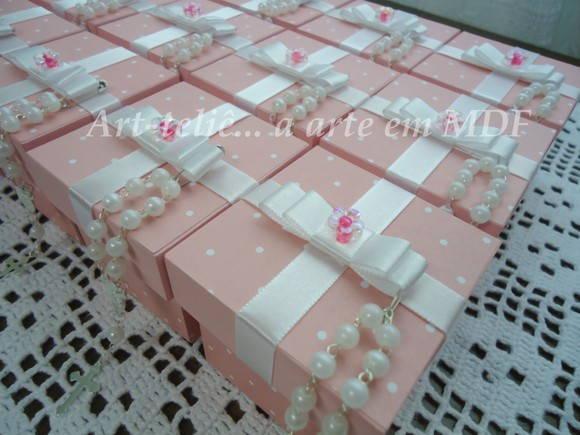 Lembrancinha 6x6 c/ mini ter�o