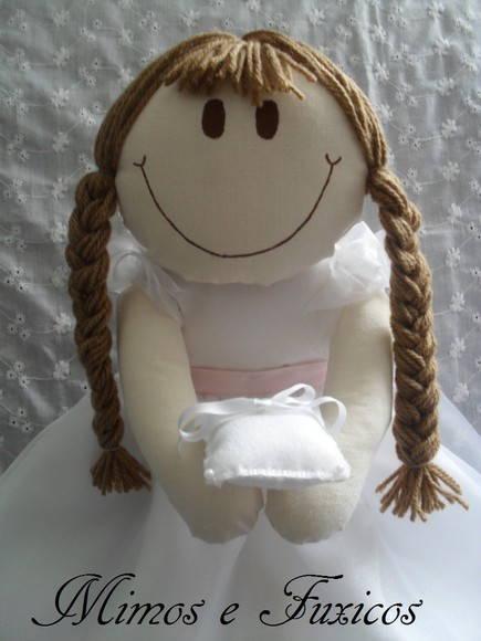 Boneca Daminha - Noivinha