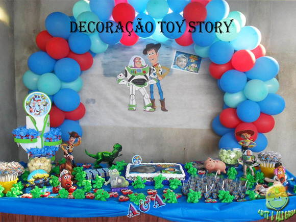 Loca��o - Decora��o Toy Story