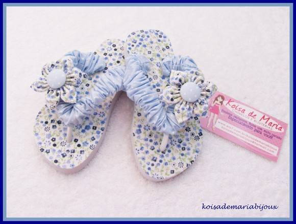 chinelo havaiana infantil customizado