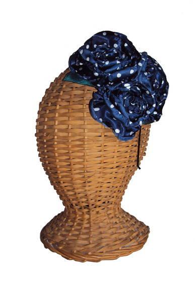 Tiara Casquete Tripla Po� Blue