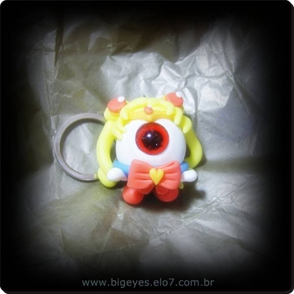 "Chaveiro ""Big Eye Sailor mOoN """