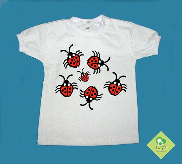 T-Shirt Beb e Infantil JOANINHAS