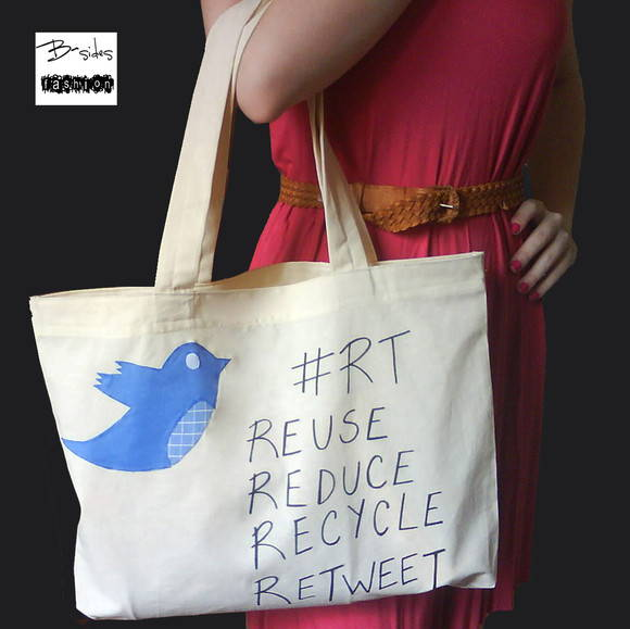 Ecobag Twitter Bird