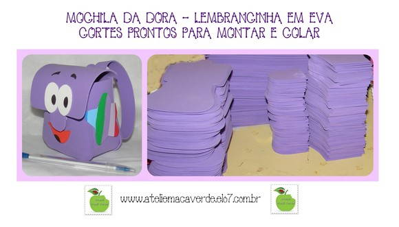 Pin Molde Gratis Mochila Da Dora Girls Tattoos Designs on Pinterest