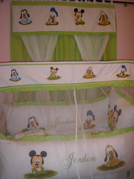 KIT DE BER�O BABY DISNEY