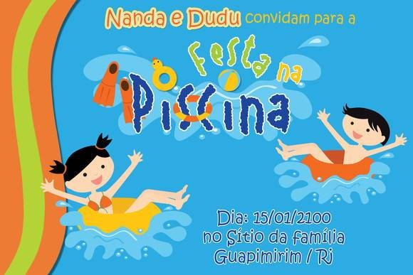Festa na Piscina