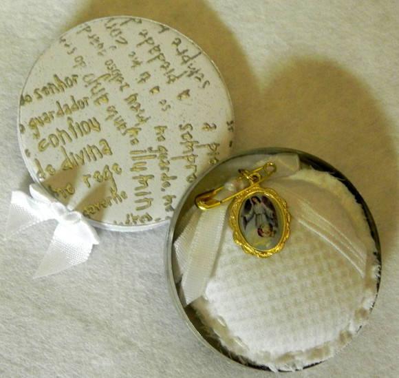 Lembrancinhas De Batizado Anjinha Em Tubete De Vestido ...