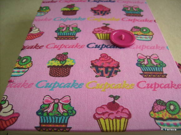 Pocket Notes Cupcake