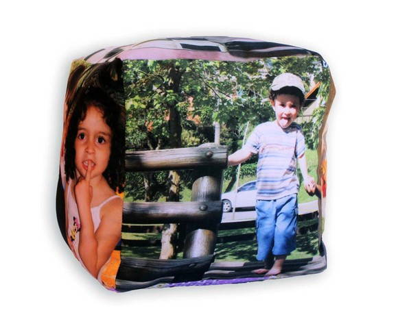 Almofada Cubo Personalizada PP - 15cm