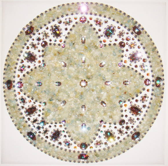 Mandala de Agua Marinha