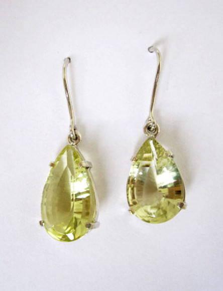 Brincos Green Gold em Prata 950