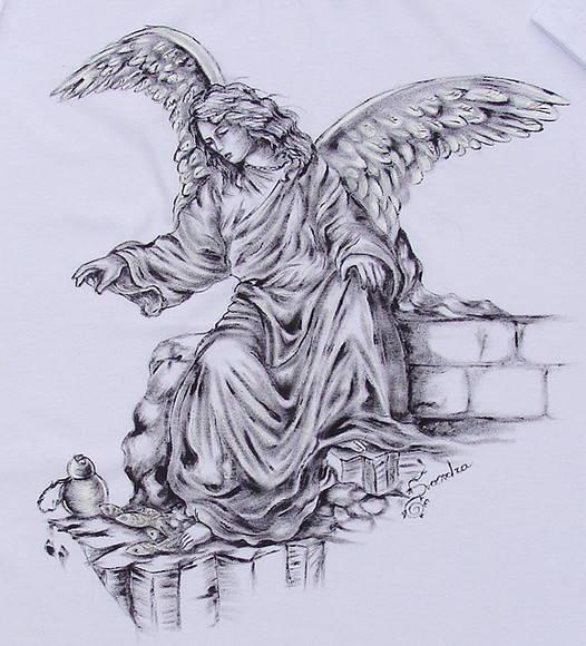Arcanjo São Raphael:: Série Tattoo